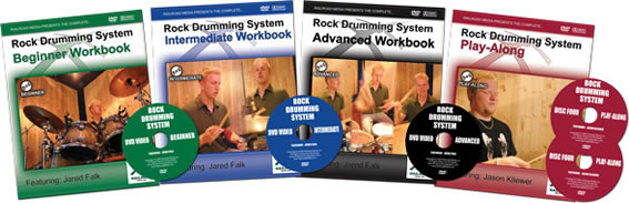 Jared Falk's Rock Drumming System